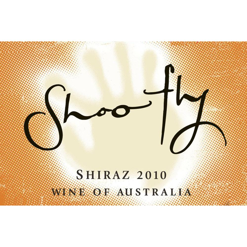 Shoofly Shiraz 2010 Front Label