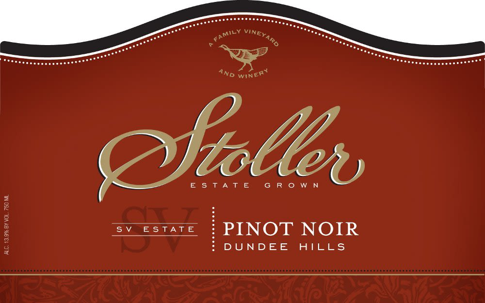 Stoller SV Pinot Noir 2007 Front Label