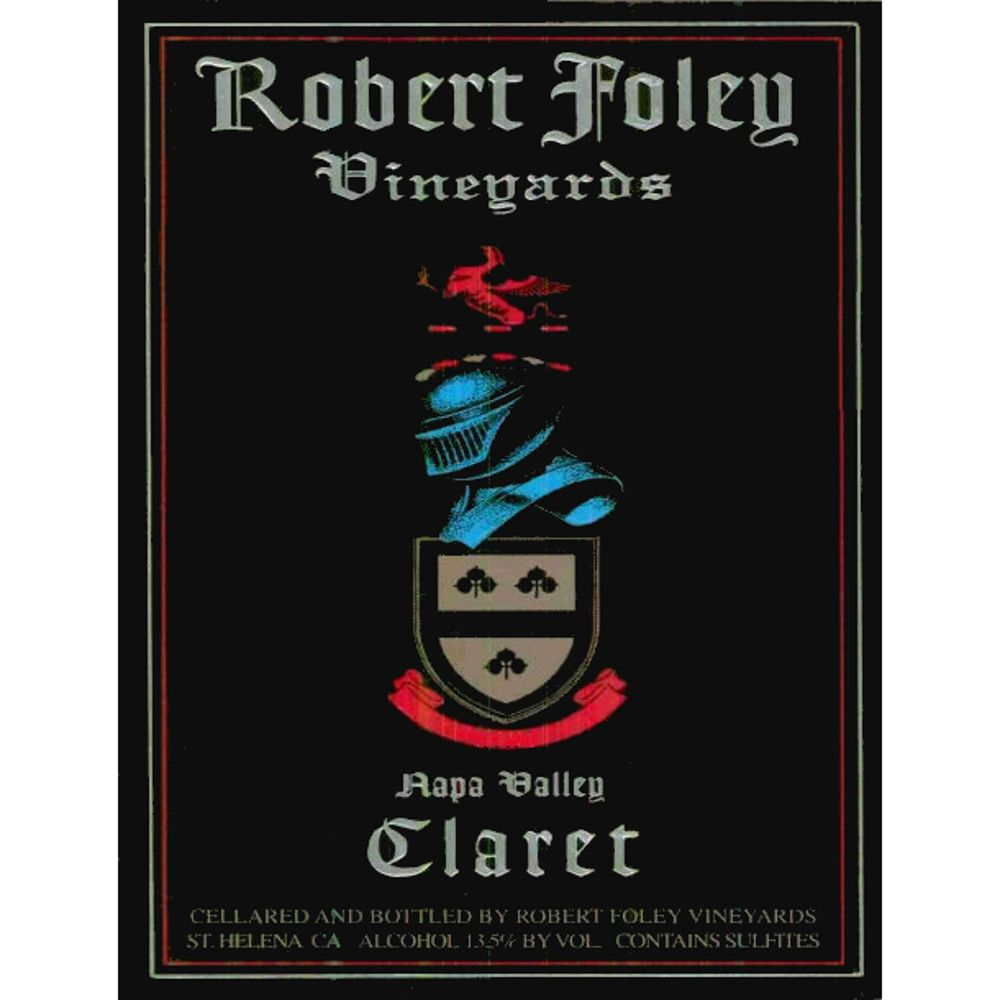 Robert Foley Vineyards Claret 2002 Front Label
