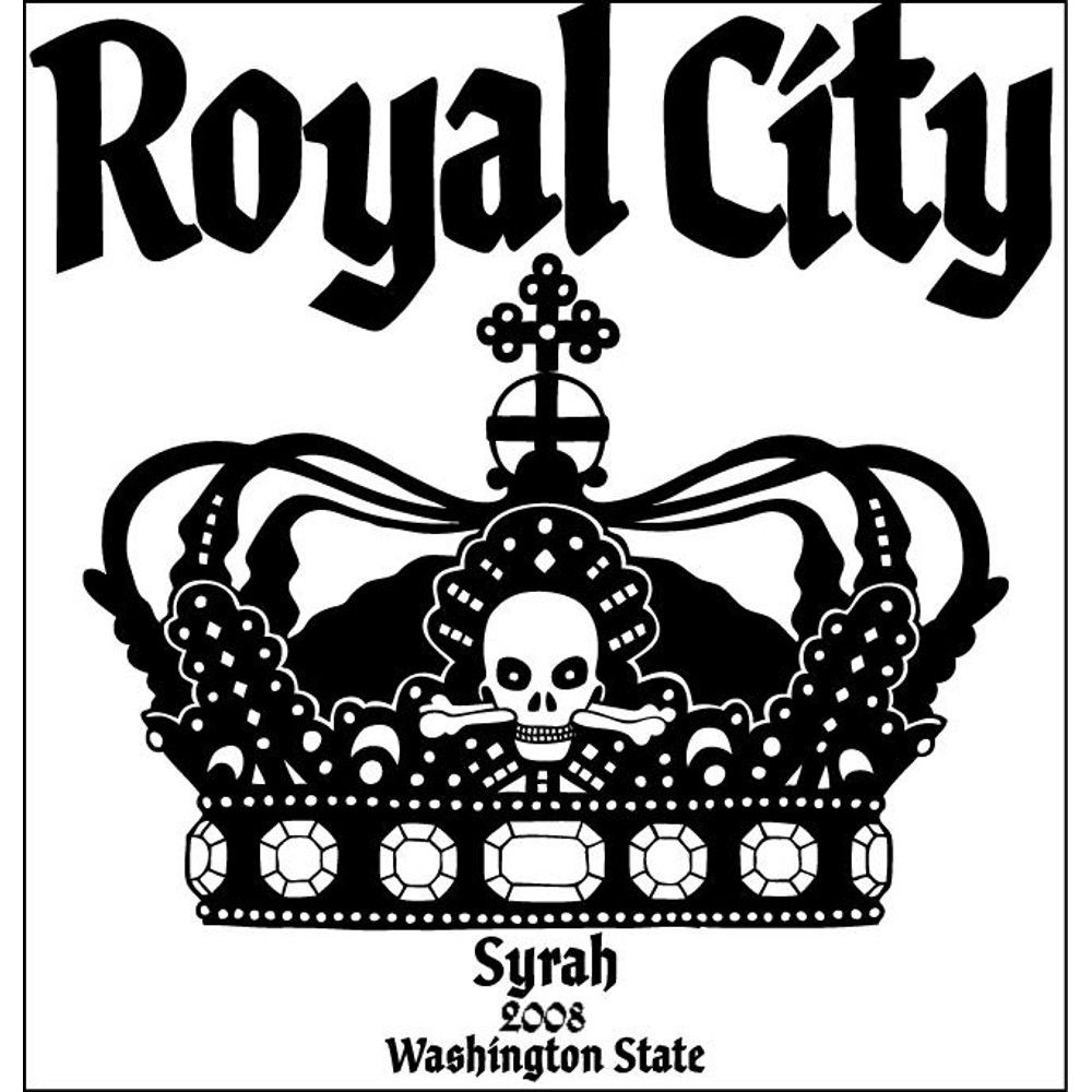 Charles Smith Wines Royal City Syrah 2008 Front Label