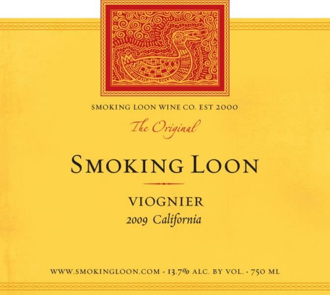 Smoking Loon Viognier 2009 Front Label