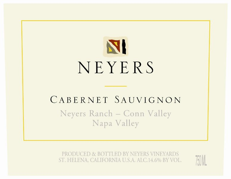 Neyers Neyers Ranch-Conn Valley Cabernet Sauvignon 2008 Front Label