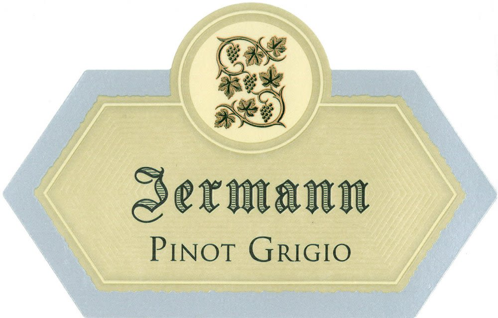 Jermann Pinot Grigio 2010 Front Label