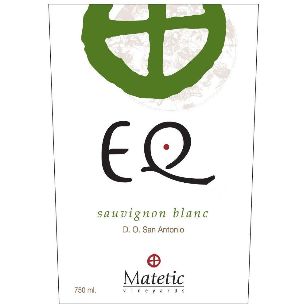 Matetic EQ Sauvignon Blanc 2010 Front Label
