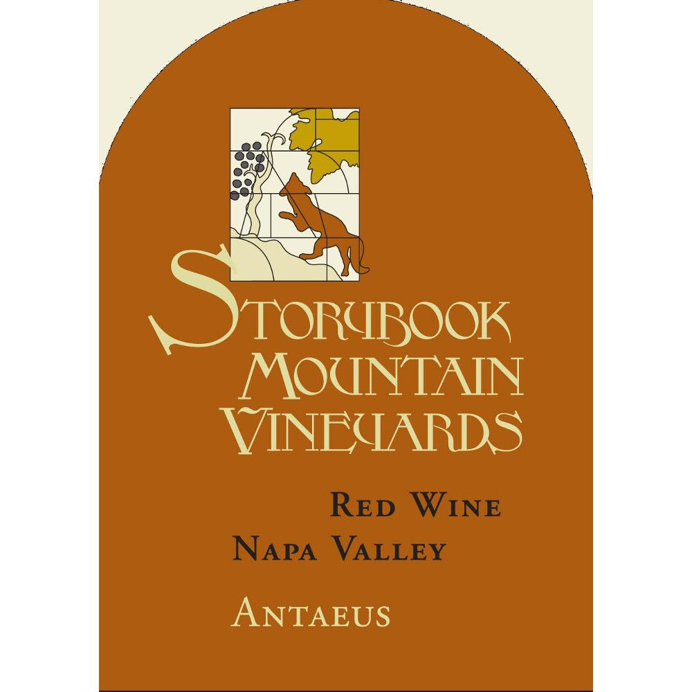 Storybook Mountain Antaeus 2008 Front Label