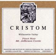 Cristom Mt. Jefferson Cuvee Pinot Noir 2009 Front Label