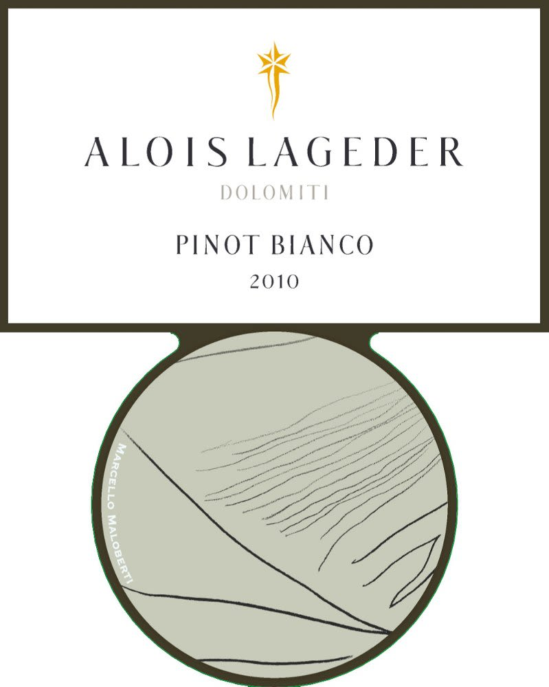 Alois Lageder Pinot Bianco 2010 Front Label