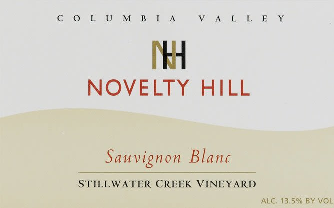 Novelty Hill Stillwater Creek Vineyard Sauvignon Blanc 2009 Front Label