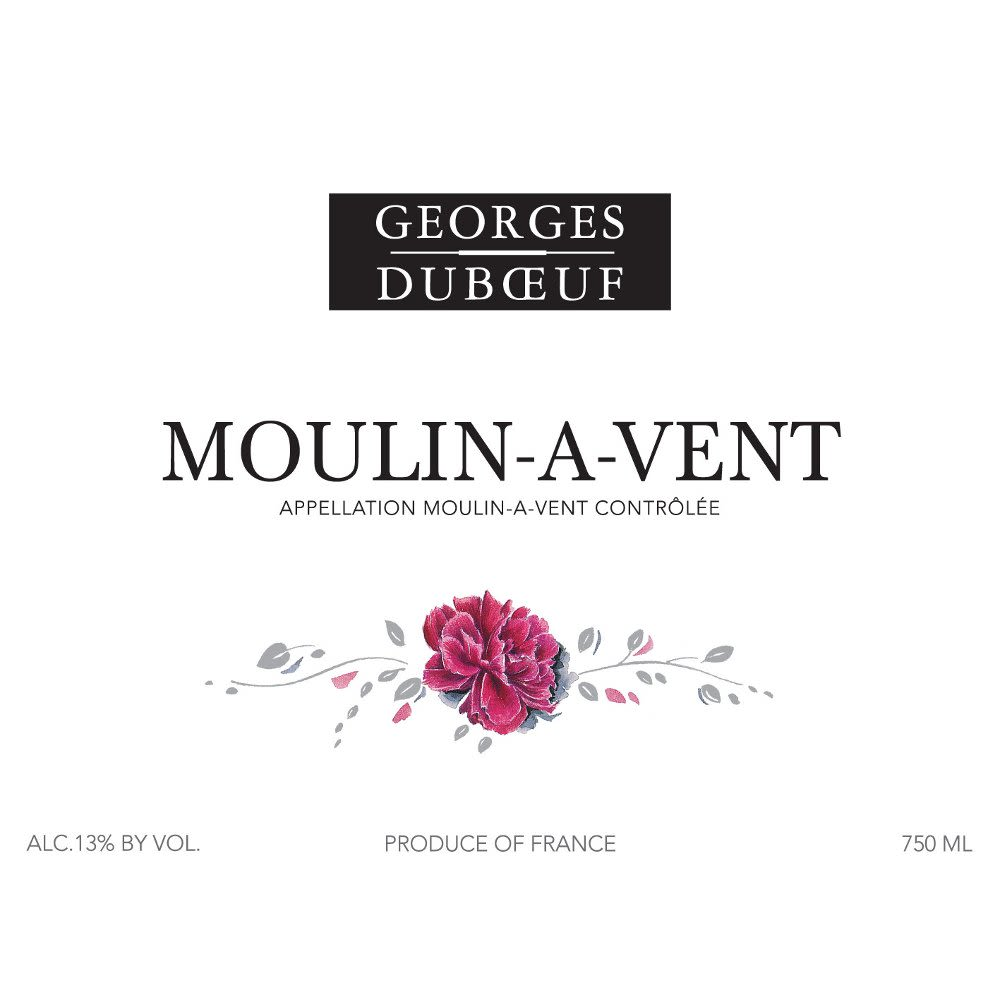 Duboeuf Moulin-a-Vent 2010 Front Label