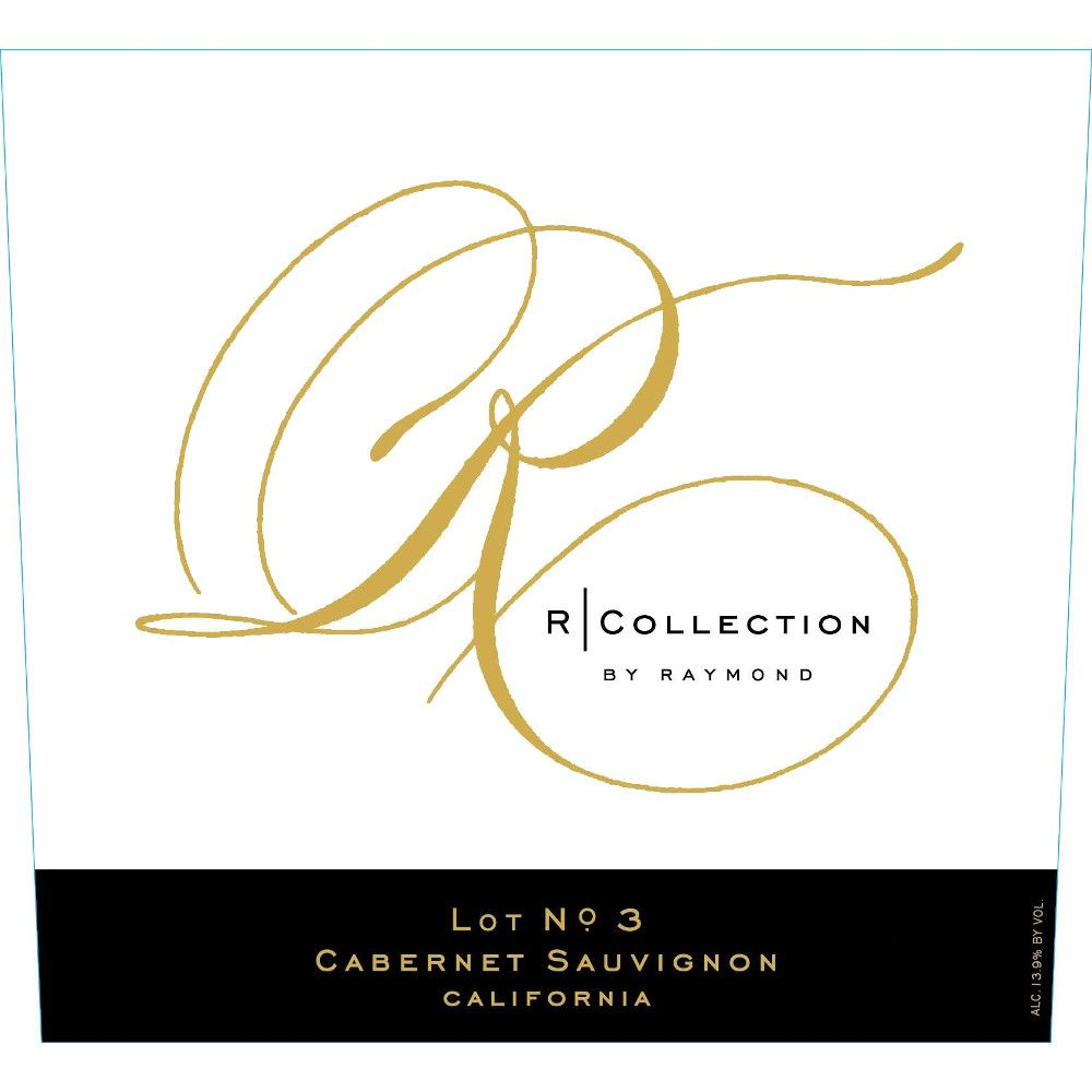 Raymond R Collection Cabernet Sauvignon 2009 Front Label