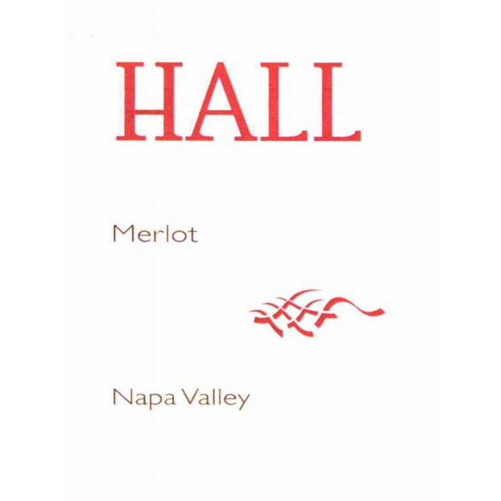 Hall Napa Valley Merlot 2007 Front Label