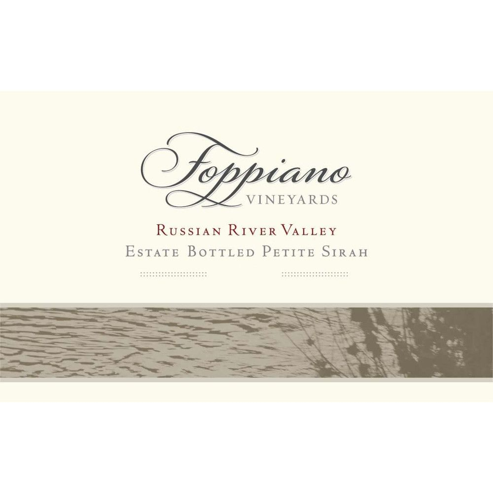 Foppiano Estate Petite Sirah 2009 Front Label