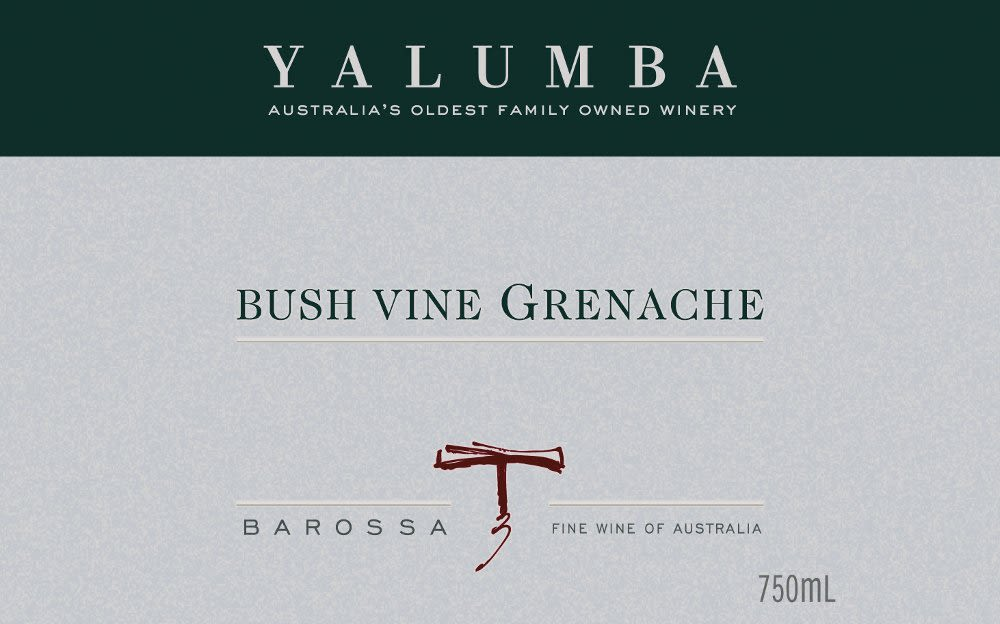 Yalumba Old Bush Vine Grenache 2009 Front Label