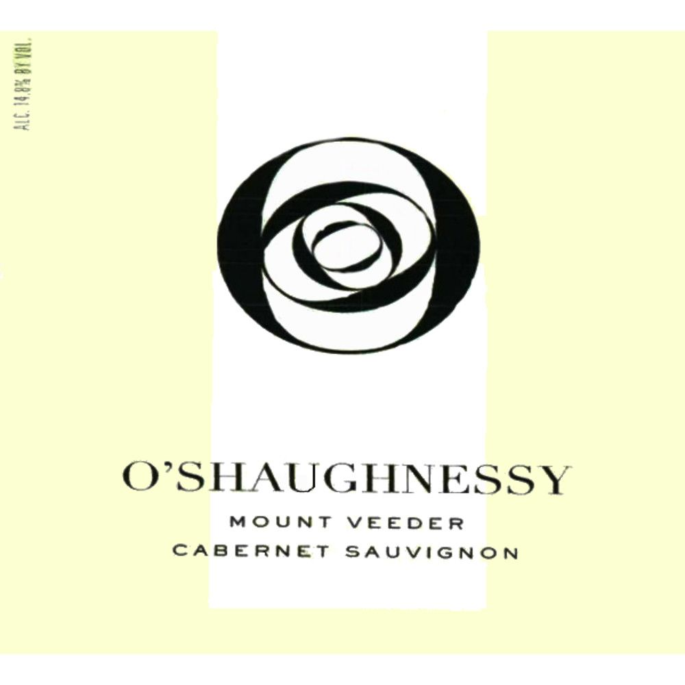 O'Shaughnessy Mt. Veeder Cabernet Sauvignon 2008 Front Label