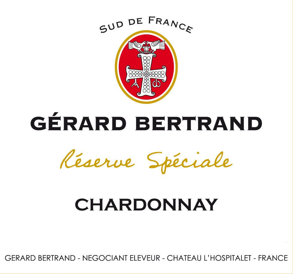 Gerard Bertrand Reserve Speciale Chardonnay 2010 Front Label