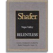 Shafer Relentless 2008 Front Label