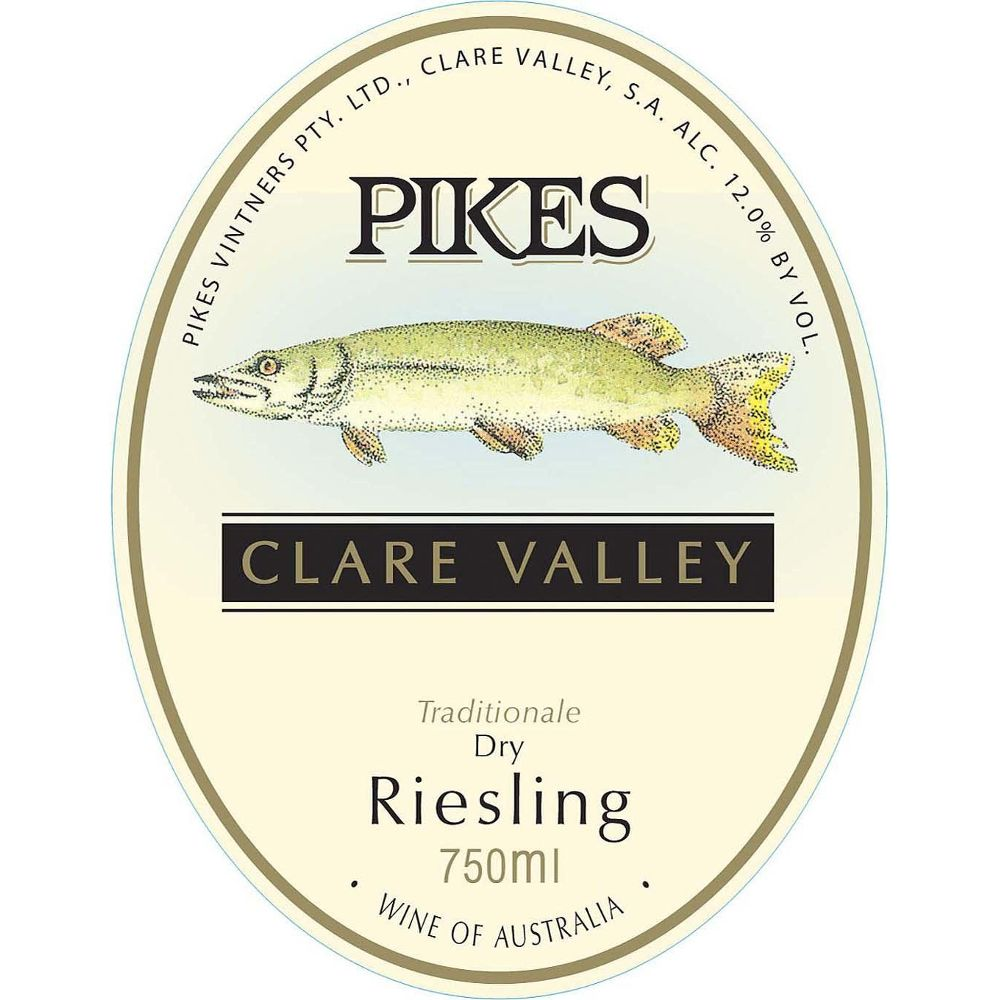 Pikes Riesling Traditionale 2010 Front Label