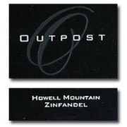 Outpost Howell Mountain Zinfandel 2009 Front Label