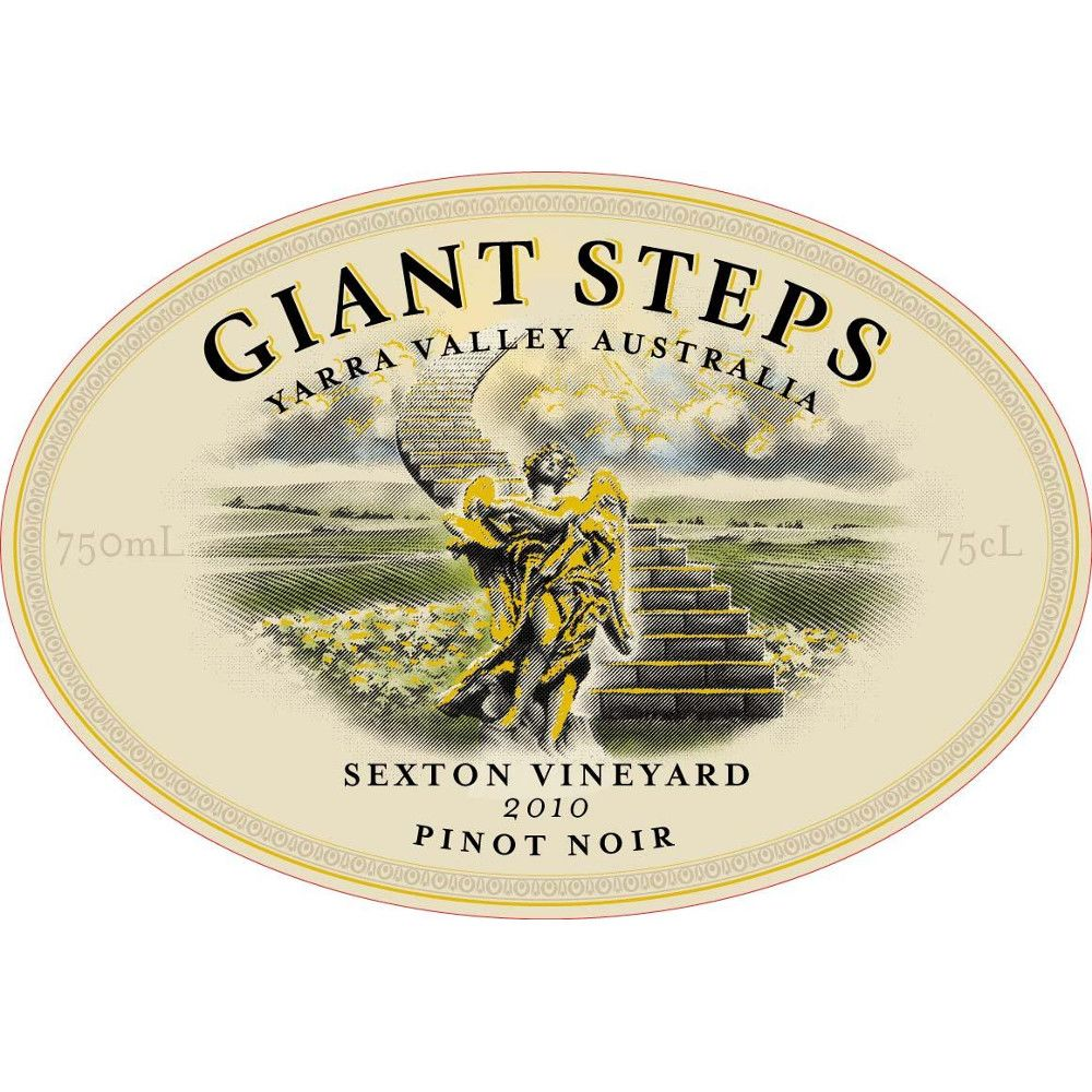 Giant Steps Sexton Vineyard Pinot Noir 2010 Front Label