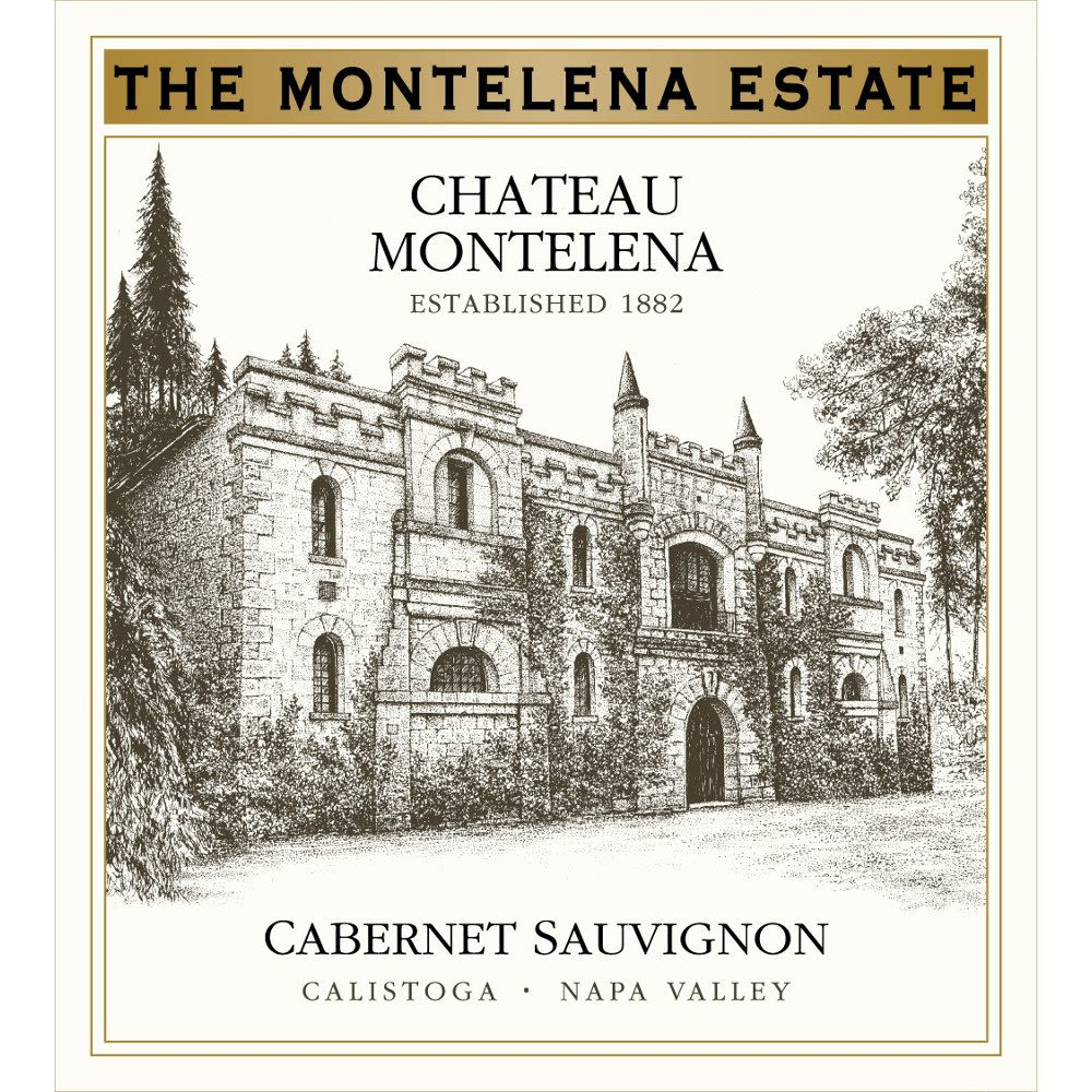 Chateau Montelena Estate Cabernet Sauvignon Vertical 2002 through 2004 Front Label