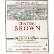 Chateau Brown Blanc 2008 Front Label