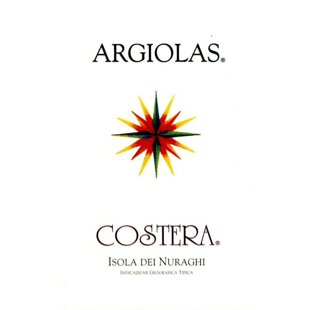 Argiolas Costera 2009 Front Label