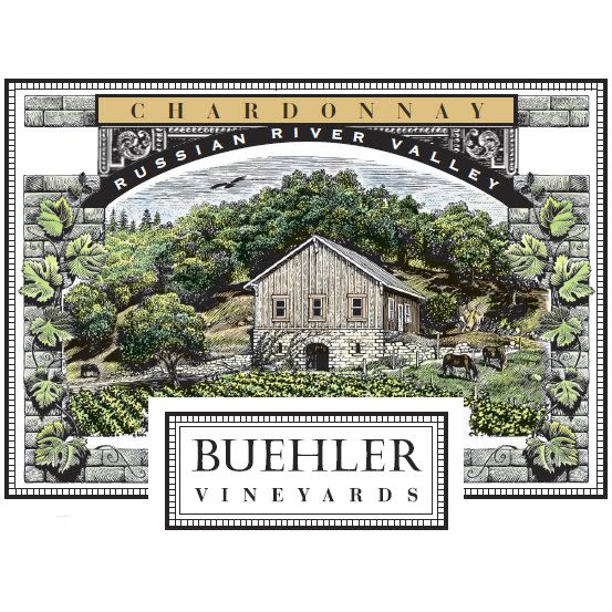 Buehler Russian River Chardonnay 2010 Front Label