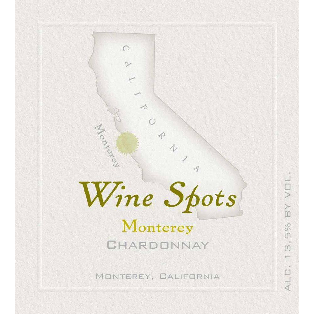 Wine Spots Monterey Chardonnay 2010 Front Label