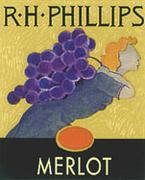 RH Phillips Merlot 1998 Front Label