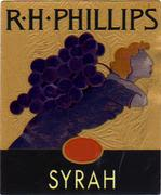 RH Phillips Syrah 1998 Front Label