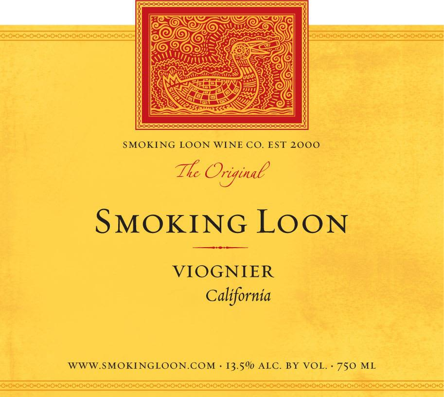 Smoking Loon Viognier 2010 Front Label