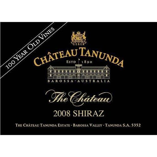 Chateau Tanunda The Chateau 100 Year Old Vine Shiraz 2008 Front Label