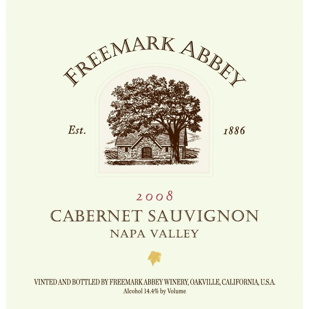 Freemark Abbey Napa Valley Cabernet Sauvignon 2008 Front Label