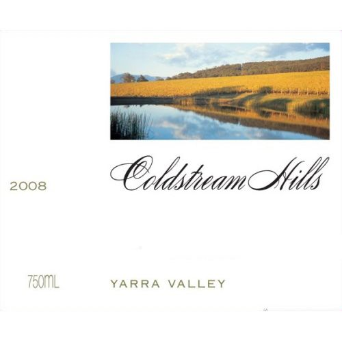 Coldstream Hills Pinot Noir 2008 Front Label