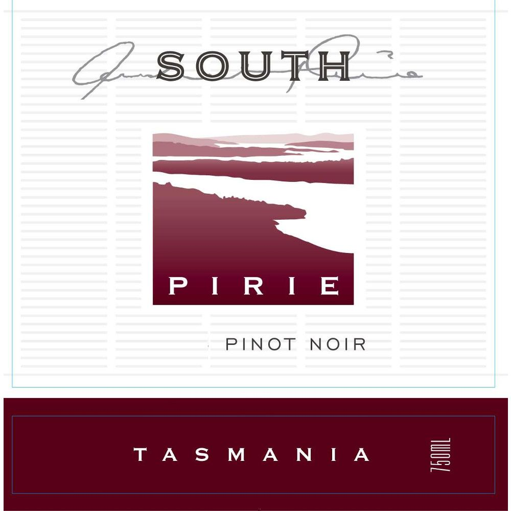 Pirie Tasmania South Pinot Noir 2009 Front Label