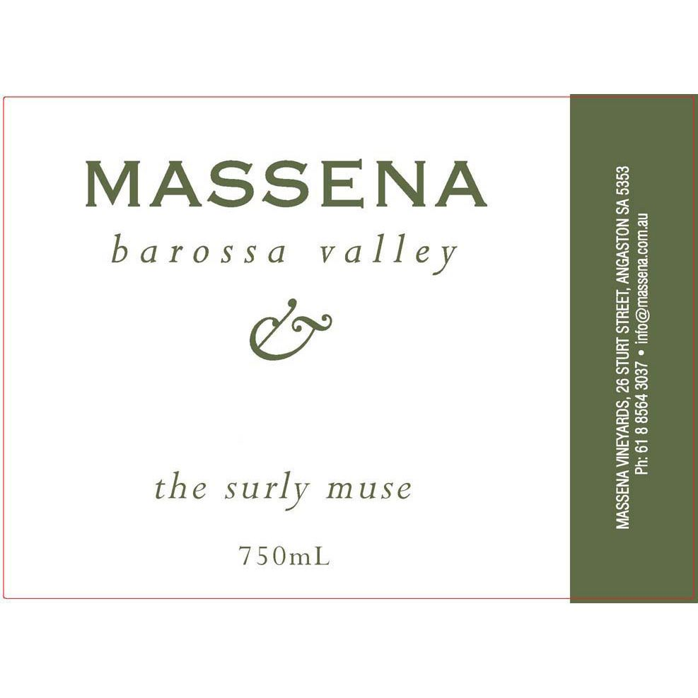 Massena The Surly Muse Viognier 2010 Front Label