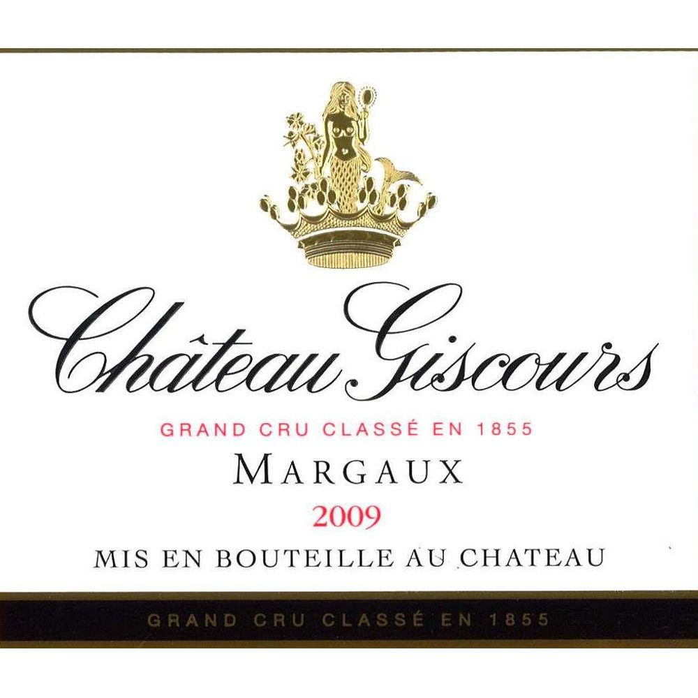 Chateau Giscours  2009 Front Label