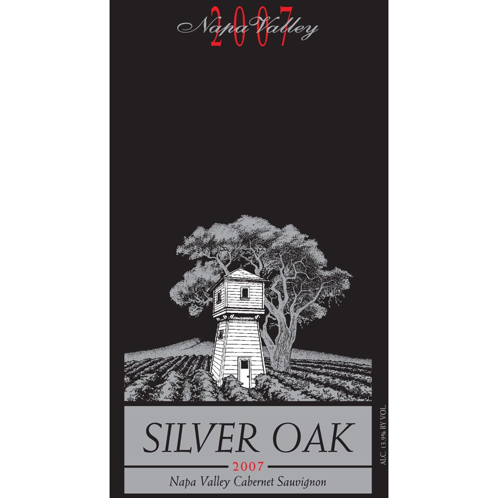Silver Oak Napa Valley Cabernet Sauvignon 2007 Front Label