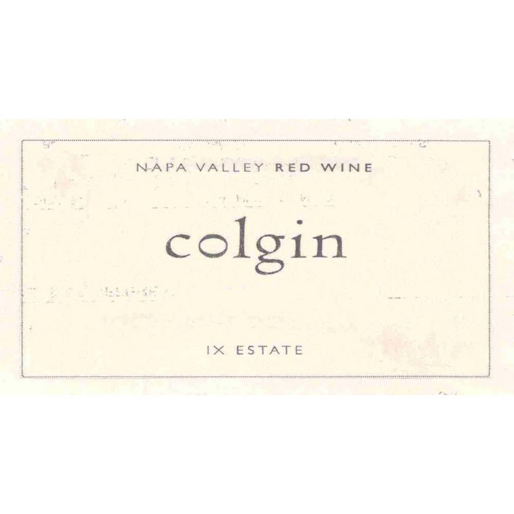 Colgin IX Estate Red 2006 Front Label