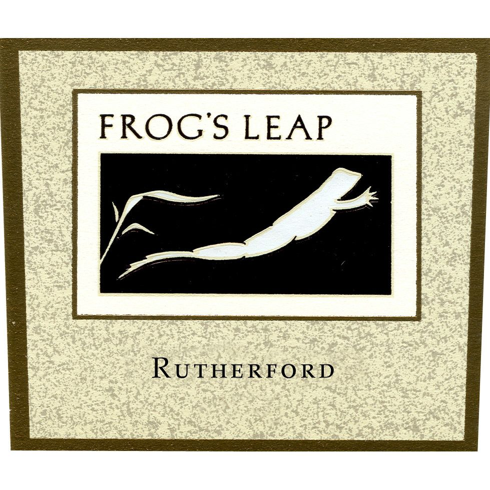 Frog's Leap Estate Grown Cabernet Sauvignon 2008 Front Label