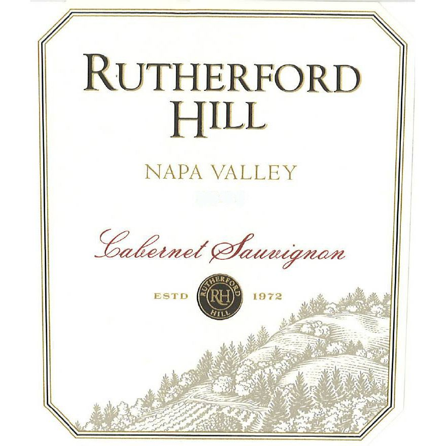 Rutherford Hill Cabernet Sauvignon 2007 Front Label