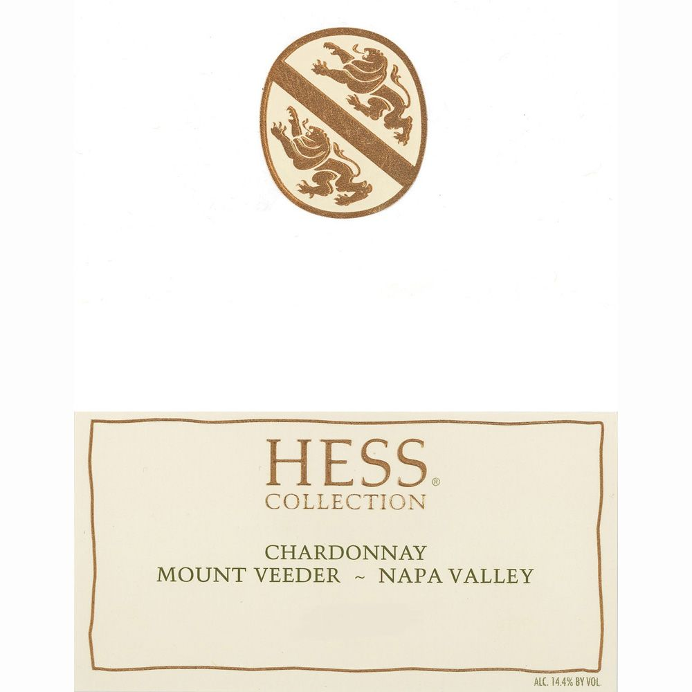 Hess Collection Napa Valley Chardonnay (half-bottle) 2009 Front Label
