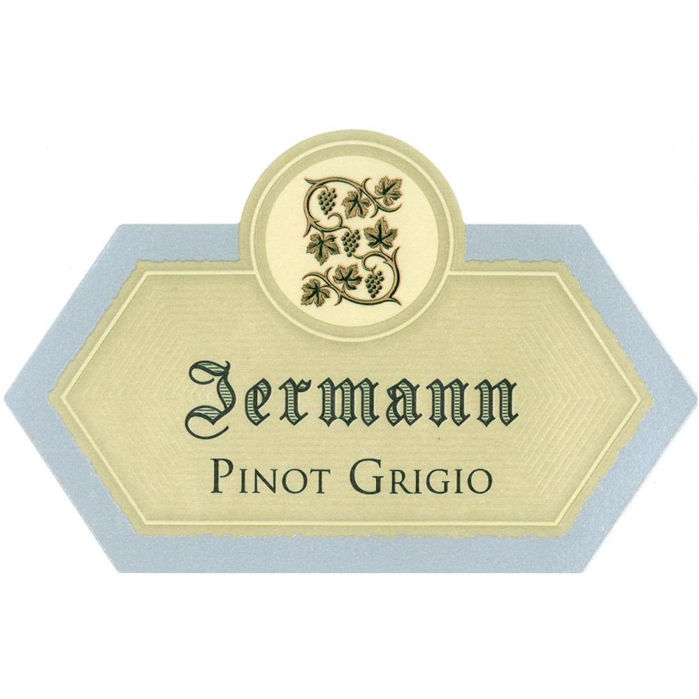 Jermann Pinot Grigio (375ML half-bottle) 2010 Front Label