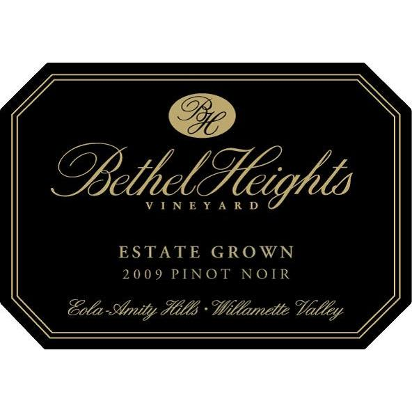 Bethel Heights Estate Pinot Noir (375ML half-bottle) 2009 Front Label