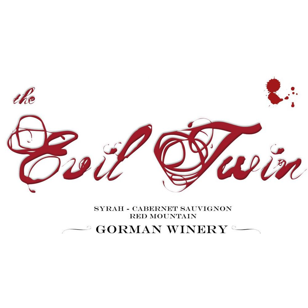 Gorman The Evil Twin 2008 Front Label