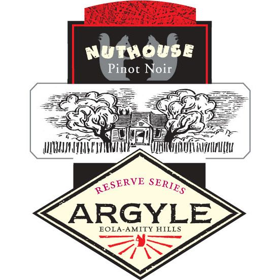 Argyle Nuthouse Pinot Noir 2009 Front Label