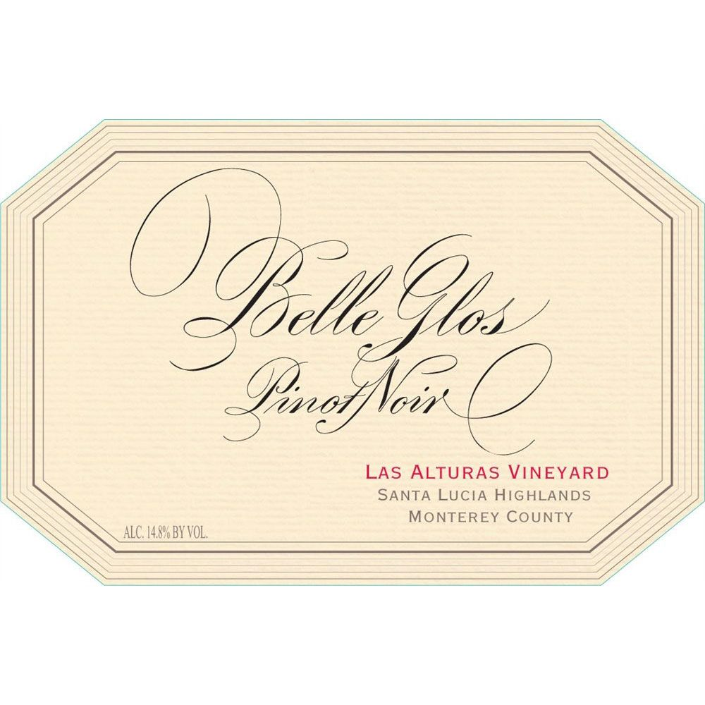 Belle Glos Las Alturas Vineyard Pinot Noir 2010 Front Label
