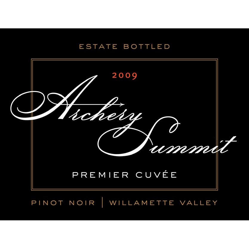 Archery Summit Premier Cuvee Pinot Noir 2009 Front Label