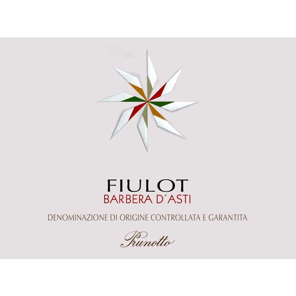 Prunotto Fiulot Barbera d'Asti 2009 Front Label