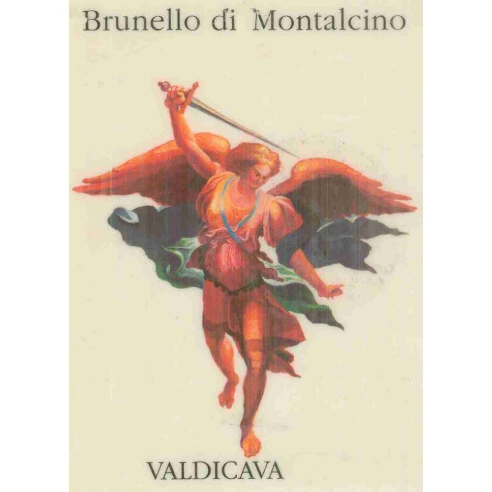 Valdicava Brunello di Montalcino (chipped wax - 1.5 Liter Magnum) 2007 Front Label
